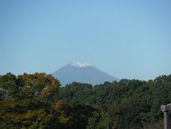 富士山初冠雪①
